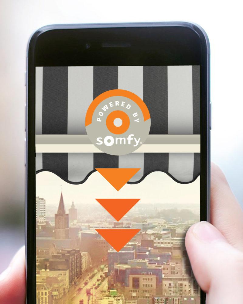 My Sun App Ready Somfy Markies